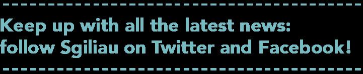 social media footer branding